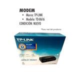 Modem Tp-link Nuevo Modelo Td-8616