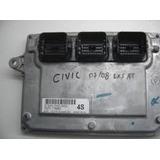 Modulo Injeção New Civic Lxs ( 2007/2008) 37820-rnd-m52 - 4s
