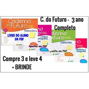 Caderno Do Futuro 3º Ano-língua Portuguesa, Matemática,...