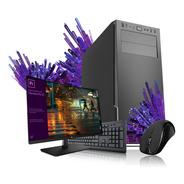 Pc Completa Amd Dual E6010 Core 8gb Ssd 240gb Wi Fi Monitor