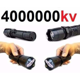 Lanterna Recarregavel Shock Choque Ultra Potente Led Taser