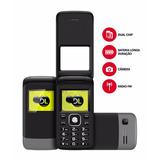 30% Off - Telefone Celular Dl Yc230 2 Chips Para Você Vovó!.