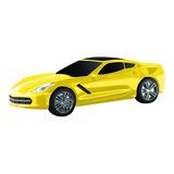 General Motors Racing Yellow Tri Coat Corvette Power Bank (c