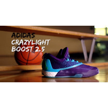 Basqueteira Adidas Crazylight Boost 2 Low - Original