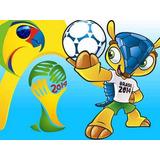 Kit Imprimible Mundial Brasil 2014 Candy Bar Golosinas