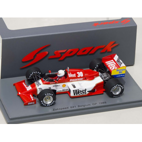 Zakspeed 841 1985 F1 Danner Spark Escala 1/43 Senna