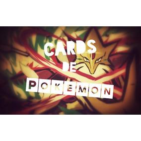 Pacote Cards De Pokemon Contém 166 De Cards