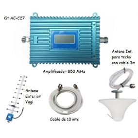 Antena Amplificador Señal Celular 850 Mhz 3g Telcel Movistar