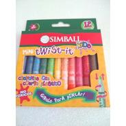 Crayon Mini Twist Simball Kid Twist X 12