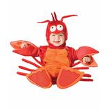 Disfraz Animal Langostino Bebé Importado 9-18 Meses