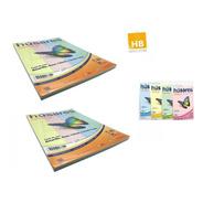 100 Hojas A4 Resma Husares 7855 Surtida Colores Pastel