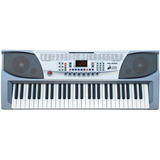 Teclado Organo Musical 54 Teclas Mk Lcd Rec Mk2083 + Fuente