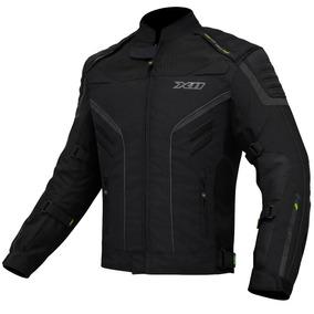 Jaqueta X11 Iron 2 Impermeável Moto Motociclista Preta