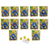 Set 3 Timbres Emoticones En Blister