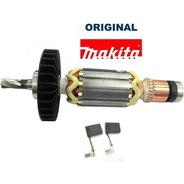 Kit Rotor + Estator + Escovas Martelete Hr2470 Original 220v