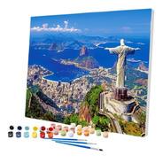 Pintura Numerada Rio De Janeiro