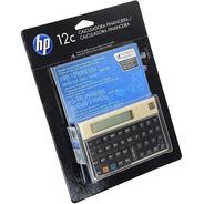 Calculadora Hp 12c Dourada Gold Original C/manual Português