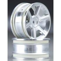 Hpi Racing Gt Wheel Silver 26mm (6mm Offset) (2) 33471