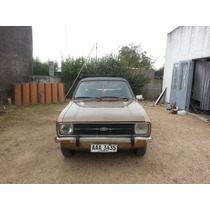 Vendo Ford Escort (pamperito) Ghia Unica Dueña