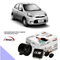 Alarme Padlock Keyless Olimpus Nissan March 2012/2015
