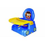 Cadeira De Papinha Azul Leão 4776 - Magic Toys