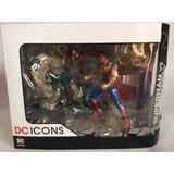 Dc Icons Superman Vs Doomsday Muerte De Superman Dc