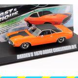 Dodge Challenger 1970 Greenlight Rapido Y Furioso Esc 1/43