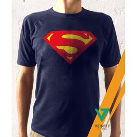Superman Wonderwoman Franela Camiseta Algodón Estampado