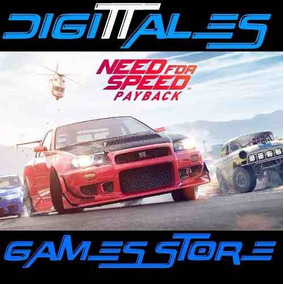Need For Speed Payback Ps4 Principal + Regalo - Digittales