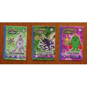 3 Card Ligmon Digimon Elma Chips