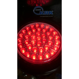 Mica Luces Stop Grande 40 Leds Rojo Camion Buseta Tuning 12v
