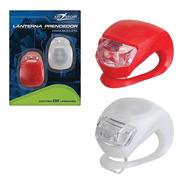Luz De Segurança De Bicicleta Promier Led Branco E Vermelho