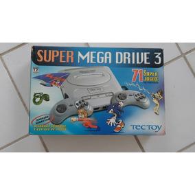 Mega Drive Tectoy Com 71 Jogos Na Caixa + Frete Grátis