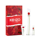 Perfume Flower By Kenzo Cofre Edp 100ml+edp 15ml + Body Milk