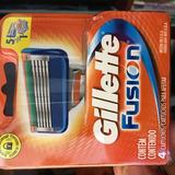 8 Cartuchos Afeitar Fusion Gillette Remate!