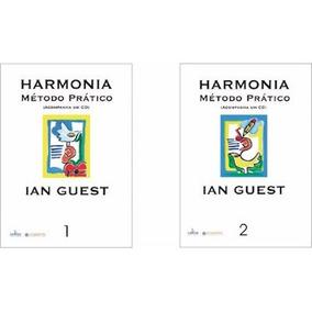 Harmonia Método Prático (ian Guest) Vol 1,2 Com Áudio