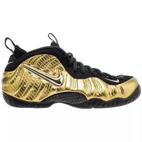 Tênis Nike Air Foamposite Pro Metallic Gold,imediato.
