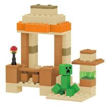 Minifiguras Minecraft Creeper Escena Bloques Coleccion