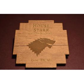 Posavasos Game Of Thrones Realizados En Madera