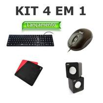 Kit 30 Teclado Mouse Mousepad Cx De Som Distribuicao Revenda