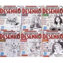 Curso Completo De Desenhos Apostilas E-books 6 Vols. Leia