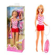 Boneca Barbie Profissões Salva Vidas Mattel Oficial Mattel