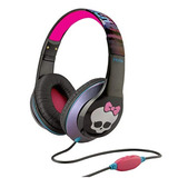 Audifonos Auriculares Para Niña Monster High Negras Ekids