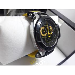 Relogio Tissot T-race Preto Moto G Caixa Manual Frete Gratis
