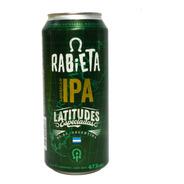 Cerveza Artesanal Rabieta American Ipa Lata 473ml 01almacen