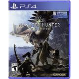 Monster Hunter World Ps4 Nuevo Sellado Delivery 26 Enero