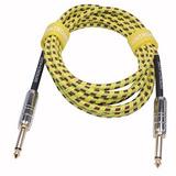 Xintronics 10 Pies Guitar Cable - Instrumentos Musicales Pr