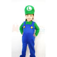 Disfraz Luigi Niño Disfraces Mario Bross Nintendo Videojuego