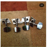 Set De Clavijas Para Cuatro Cromadas Y Sencillas