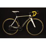 Bicicleta Turbo Ruta Carbono Art Amarillo Nueva